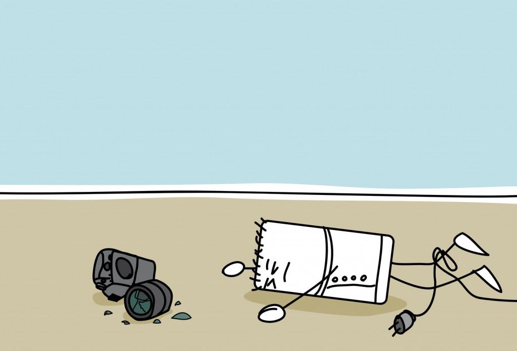 Schaden Kamera